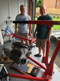 Paul (left), Craig (right)